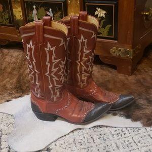 Authentic tony Lama cowboy boots